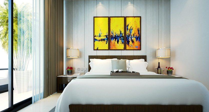 Schlafzimmer 1+1
