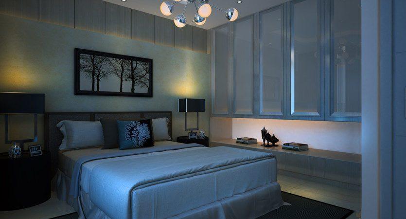 спальная комната 2+1